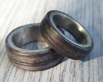 """Unique partner rings / friendship ring """"Strong Together"""""""