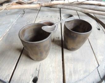 Stoneware Cup bronze