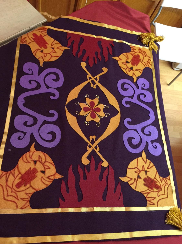 aladdin magic carpet costume. Black Bedroom Furniture Sets. Home Design Ideas