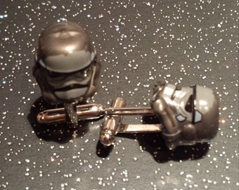 grey storm trooper cufflinks