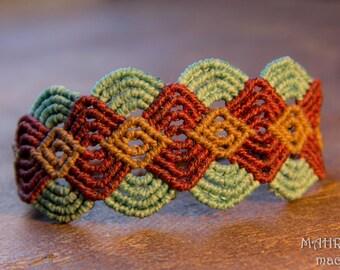 Macrame Bracelet - Waves -