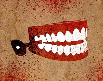 Chattering Teeth Stencil