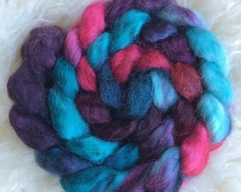Reserved, please do not purchase  Octopus: Hand-Dyed Wensleydale Fiber