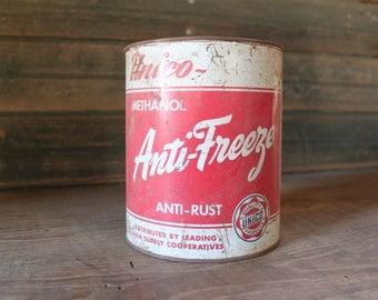 Unico Antifreeze metal can
