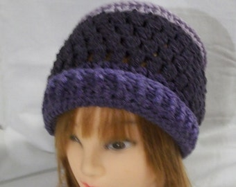 Hand Crochet Slouch Hat