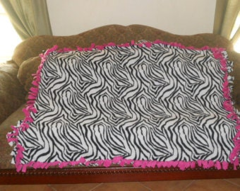 Zebra Print with Pink Accents