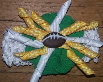 Green Bay Packers baby headband