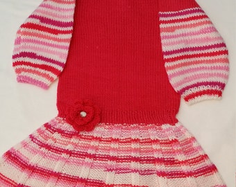 Knitted dress (4-5y)