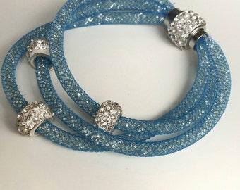 Stardust bracelet light blue