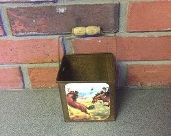 Wild West mini bucket