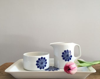 Retro Sugar and Creamer set by Hutschenreuther Germany - Vintage