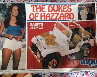 Vintage Daisy Duke Model Jeep Kit 1980