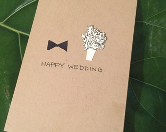 Wedding Card - His & Hers