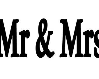 Folded BookArt Pattern - Mr & Mrs
