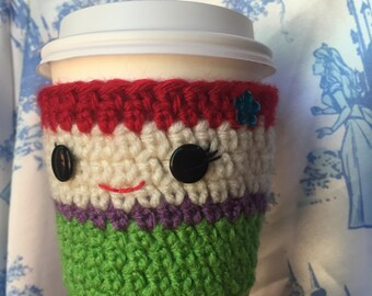Ariel The Little Mermaid Crochet Coffee Cozy