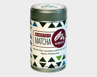 Barista's Matcha Tea