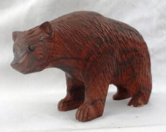 Bear, Ironwood sculpture (iwbr8)