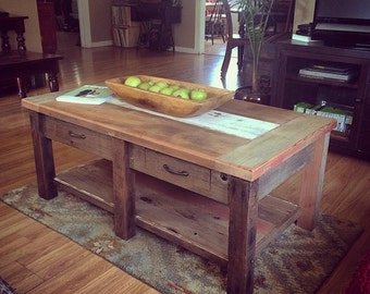 Rustic Coffe Table