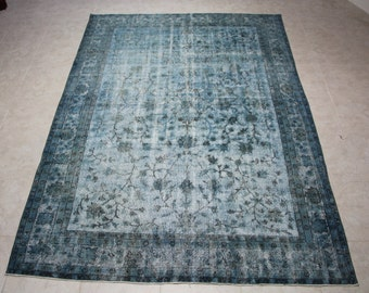 HandMade Overdyed Vintage Carpet