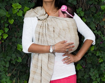 Baby carrier wrap multi purpose Mexican Rebozo sling  w/ user's guide