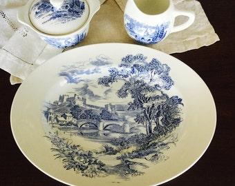 Vintage Wedgewood China Countryside Pattern