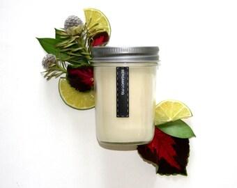 Bergamot Fig 6oz Soy Wax Candle 35HR