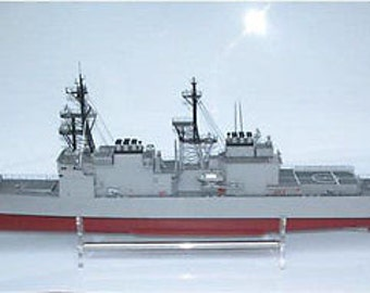 Rc Remote Control Spruance 1:144 Ship Boat (KIT)