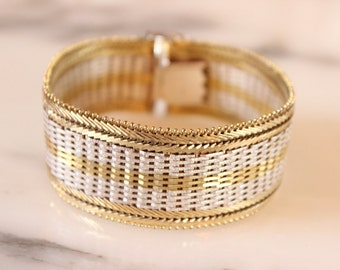 M9016 Gold and Silver Bracelet