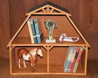 Barn Shelf for books, display, play