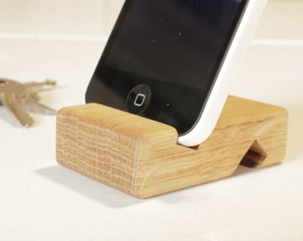 Cellular phone stand, dock, iphone, galaxy, 2 positions