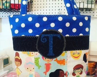 Little Girls Library Bag