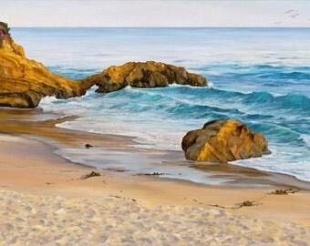 Keyhole Arch Beach