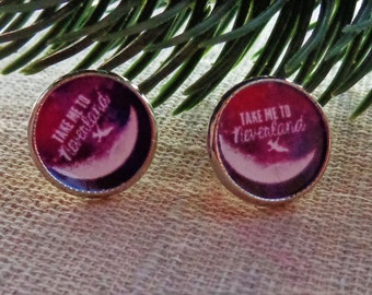Stud earrings Take me to Neverland