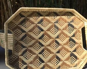 Fijian Design Trays