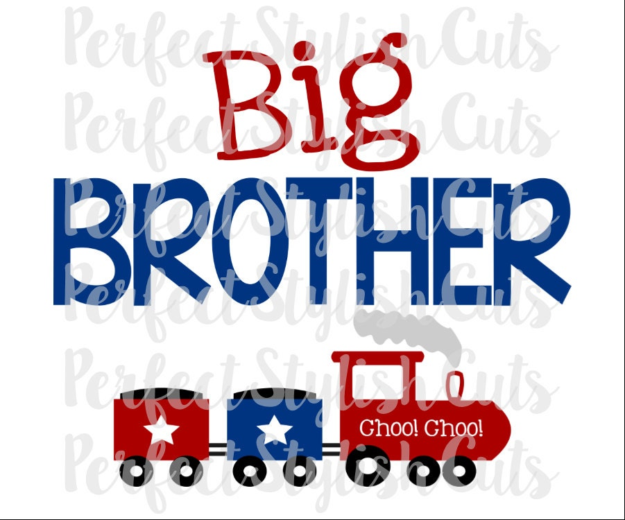 Download Big Brother SVG DXF EPS png Files for Cameo and Cricut