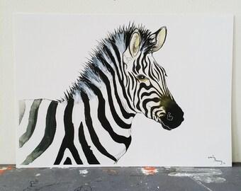 zebra gloss print