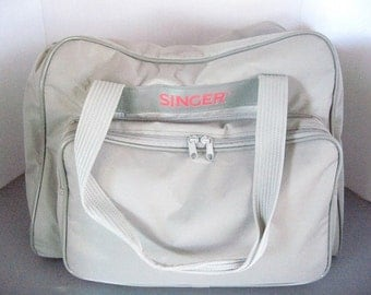Singer Sewing Machine padded carrying case