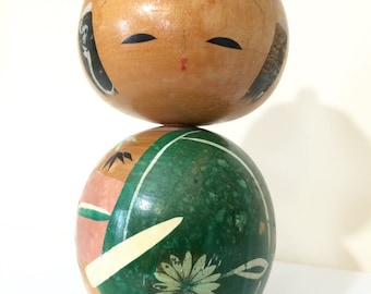 10% OFF Vintage Kokeshi Doll