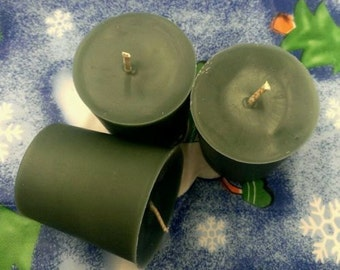 3 Oh Christmas Tree Scented Soy Votive Candles