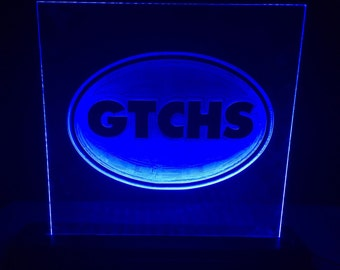 Greenville Tech Charter High LED Sign