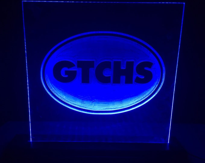 Greenville Tech Charter High LED Sign