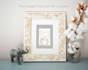 The Grey Elephant (8x10)