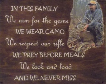 Rustic Cabin Sign ~ Gifts for Hunters ~ Reclaimed Wood Pallet Wall Art
