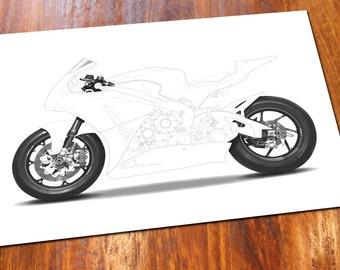 Fireblade Motorbike