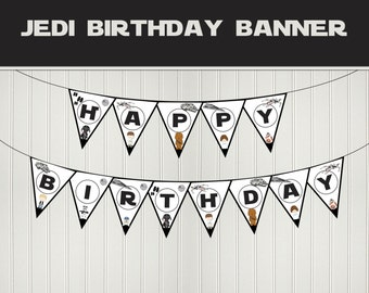 Star Wars birthday banner - DIY printable