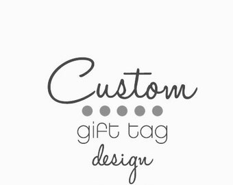 Custom Gift Tag Label