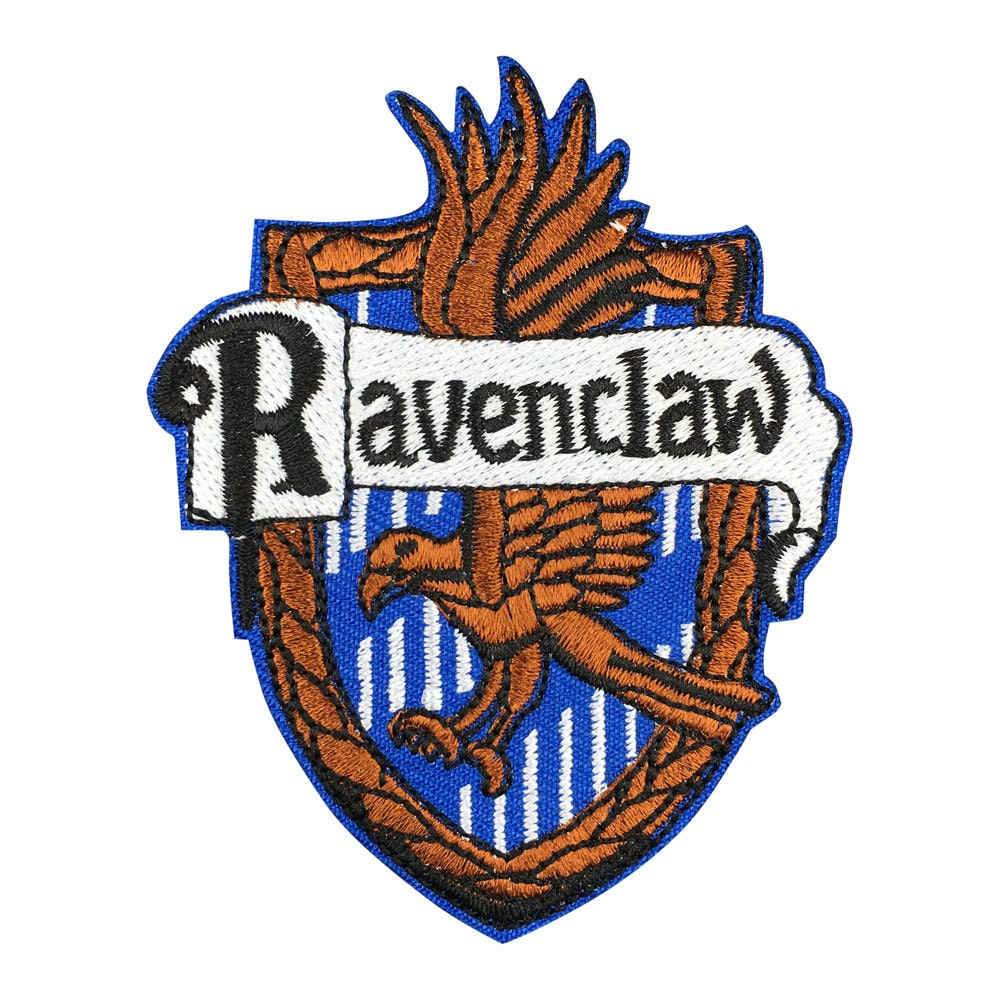 Harry Potter Magic Academy Ravenclaw Patch Movie Iron On Sew