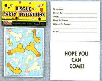 Adult Party Pack Invitations  by Ollies