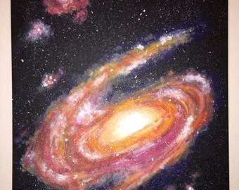 Spiral Galaxy Painting