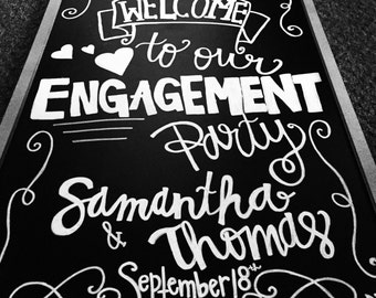 Engagement Chalkboard
